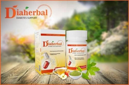Diaherbal capsules