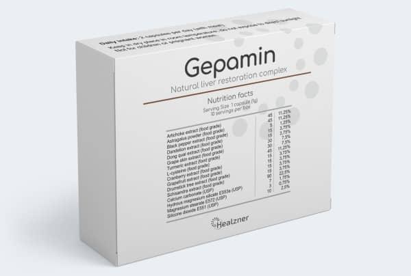 ส่วนผสมใน Gepamin